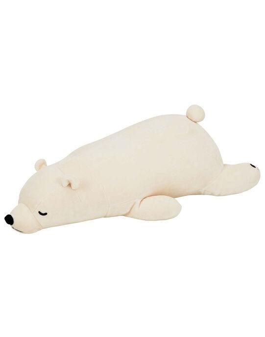 Peluche Ours blanc L 51 cm Trousselier blanche dès la naissance SHIRO NEMU 51CM / 19PJPE004GPE999