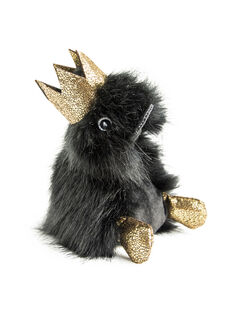 Peluche canard noir Prince Charly 18 cm COINCOIN CHARLY / 18PJPE018PPE999