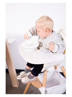 Evolu tablette de chaise blanche abs TABLET EVO BLAN / 20PRR2014AMR000