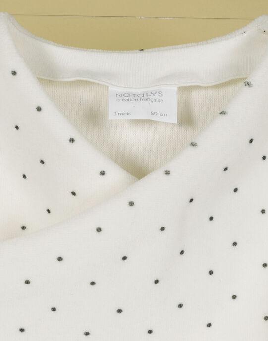 Brassière vanille pois mixte TANDEM 19 / 19PV2425N2A114