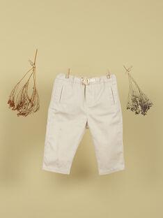 Pantalon sable garçon TOMER 19 / 19VU2011N03808