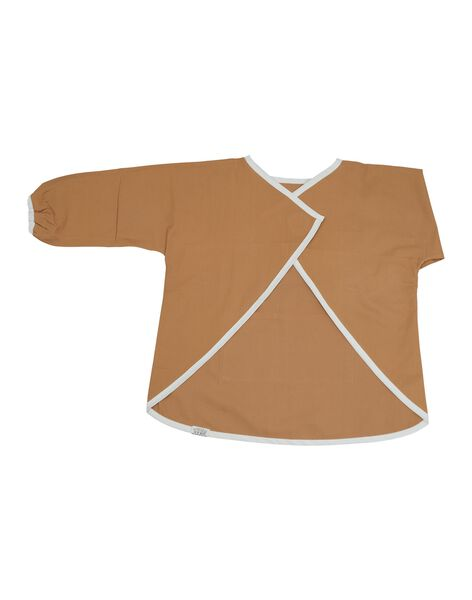 Tablier blouse chambray ocre 1 3 ans TABLIE OCRE 1 3 / 21PRR2005BVR101