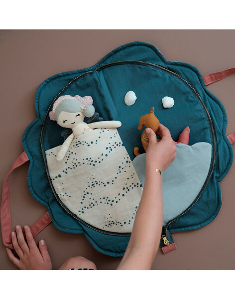 Mini tapis de jeu coquillage Coton Bio TAP JEU COQUILL / 20PJJO012AJV999