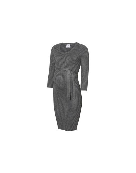 Robe pull de grossesse Mamalicious grise MLSIGRID ROBE / 19IW2666N18944