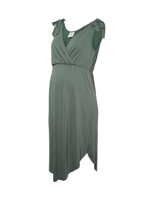 Robe d'allaitement verte MLSKYLAR DRESS / 19VW2689N18600