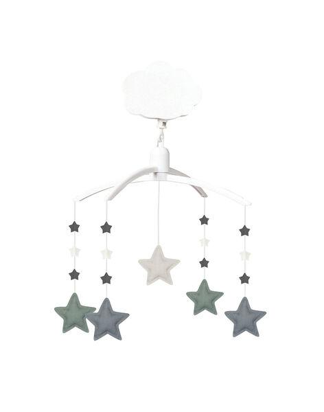 Mobile musical étoiles lin bleu MOBILE LIN BLEU / 19PJJO010MOB999