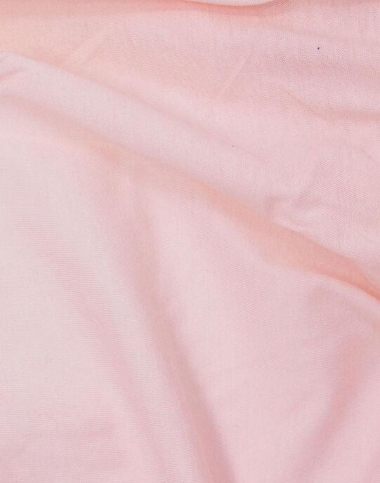 Drap housse coton bio Kadolis rose 60x120 cm DRA HOUS ROSE / 19PCTE011DRA030