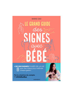 Le grand guide des signes avec bebe GUIDE SIGNES BB / 20PJME002LIB999