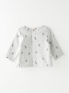 Tee Shirt Manches Longues Gris chiné BOUBOU 20 / 20IV2351N0F943