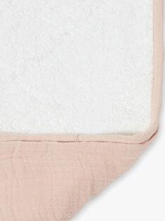 Matelas à langer rose gaze de coton fille   KLARA-EL / PTXQ6212N79030