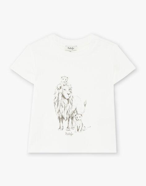 Tee Shirt Manches Courtes Vanille CASSIUS 21 / 21VU2012N0E114