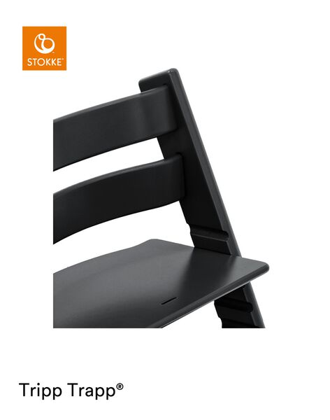 Chaise haute tripp trapp noir TRIPP TRAP NOIR / 21PRR2002CHH090