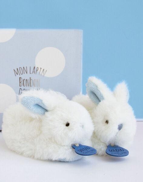 Chaussons Lapin Bonbon Bleu CHAUSS LAPIN BL / 12PJPE019MIP020