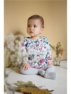 Blouse fleurie bébé fille  VANOEMIE 19 / 19IU1912N09099