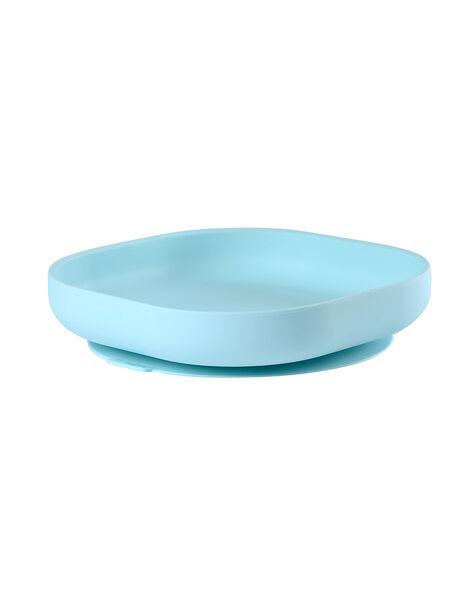 Assiette ventouse bleue en silicone ASS BLEU VENTOU / 18PRR2004VAIC218