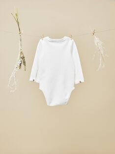 Body tee-shirt vanille bébé garçon  VALDO 19 / 19IU2012N67114