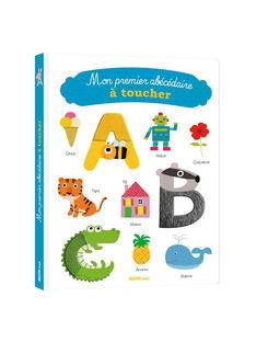 """Livre """"Mon premier abécédaire à toucher"""" Auzou 28x23,5x0,2 cm pour tous âges ABCDR A TOUCHER / 19PJME015LIB999"""