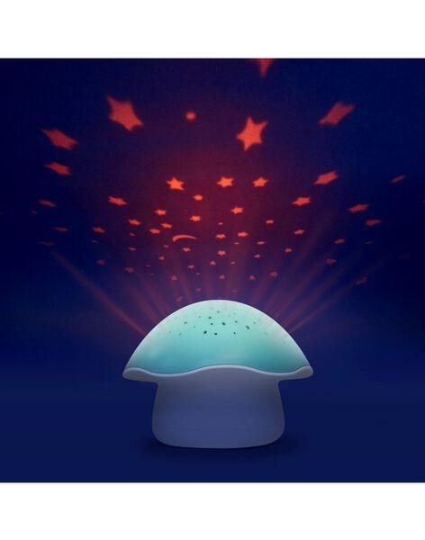 Projecteur etoiles champignon bleu PROJ CHAMP BLEU / 21PCDC002LUMC218