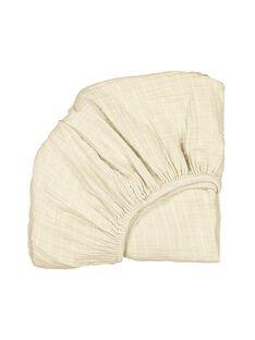 Drap-housse coton beige DRA HOUS MILK / 19PCTE009DRA999