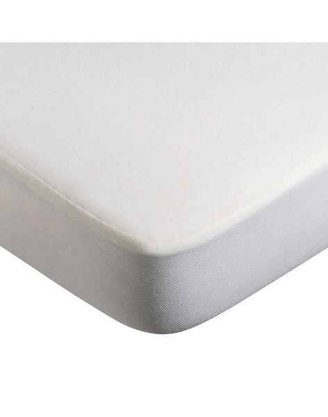 Protège matelas pour berceau Kumi Charlie Crane blanc 68x45x8 cm KUMI COVER BAMB / 19PCLT003ACL000